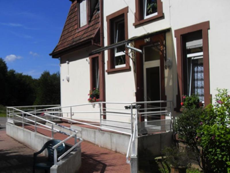 Photo de l'entrée de l'ehpas L'Orée des Bois géré par l'association Odélia